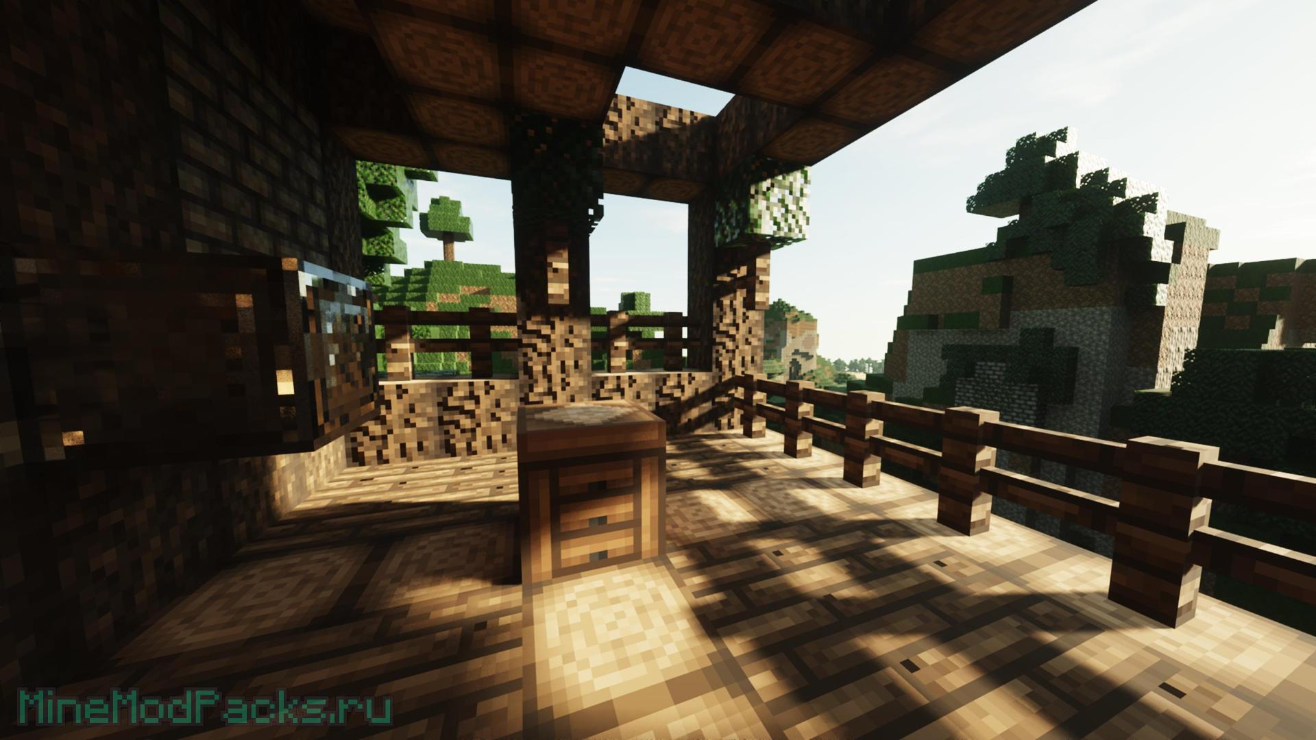 SEUS – Шейдеры с RTX Ray Tracing - Minecraft Модпаки